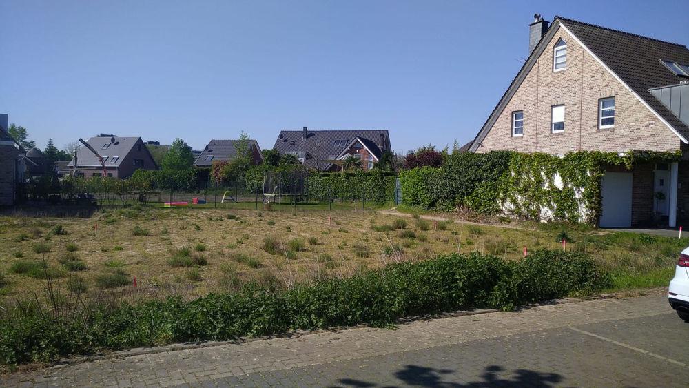 Auf diesem schönen Grundstück in Rheinnähe, entsteht bald das nächste individuell geplante Arge-Haus!