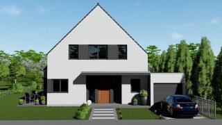 Wir bauen Ihr Einfamilienhaus in Duisburg. ARGE-HAUS