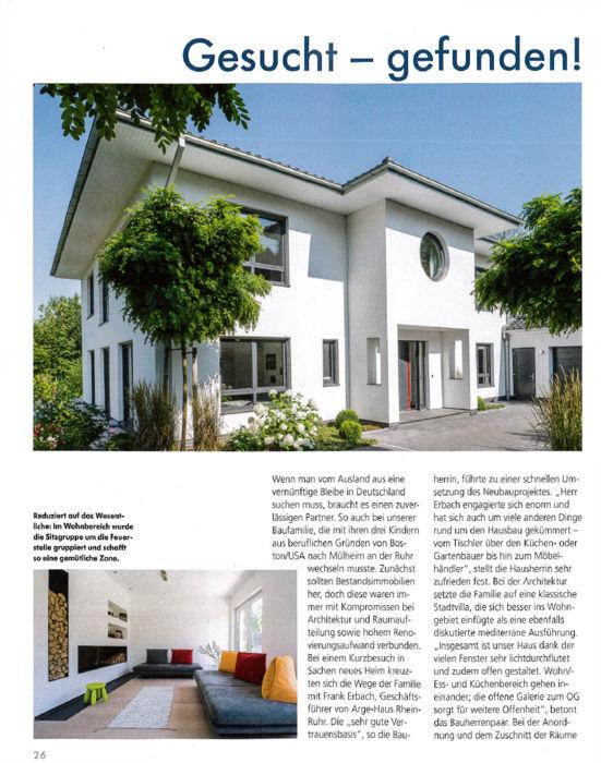 ARGE-HAUS Hausbau Nordrhein-Westfalen – Hausbau im Rhein-Ruhr Gebiet