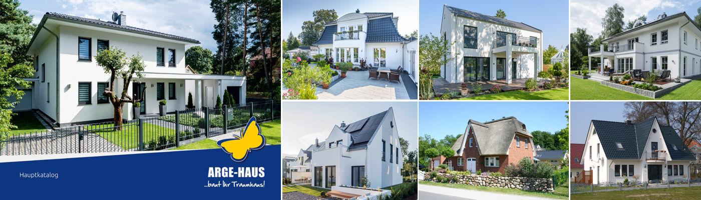 Bestellen Sie Ihren kostenlosen ARGE-HAUS Hausbaukatalog