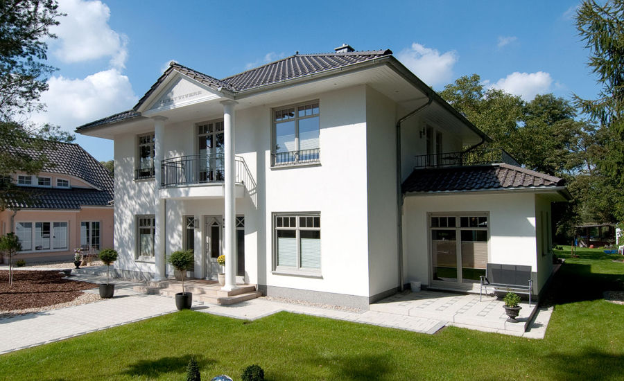 Die klassischen Villen von ARGE-HAUS. Hausbau in Nordrhein-Westfalen.