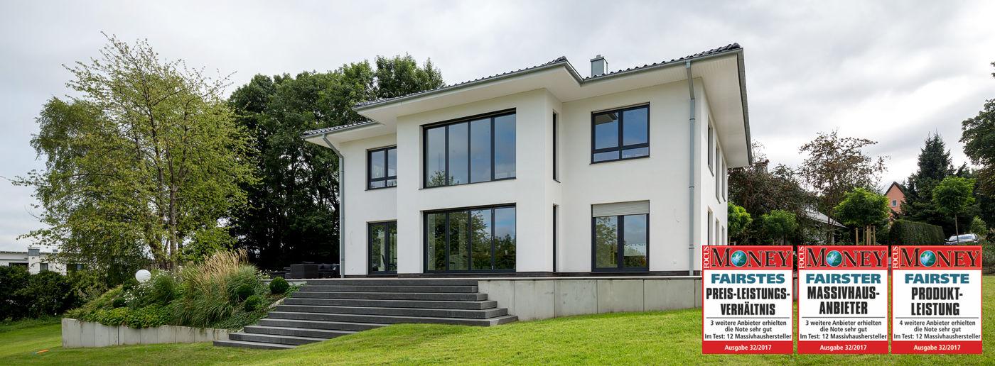Stadtvilla Hausbau NRW