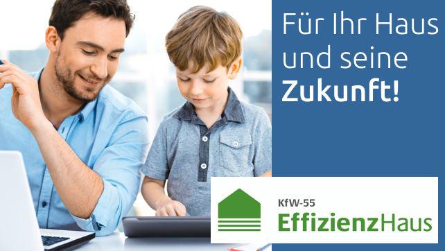 Ab sofort bauen wir alle ARGE-Häuser im besonders energiesparenden KfW-Effizienzhaus-Standard 55.